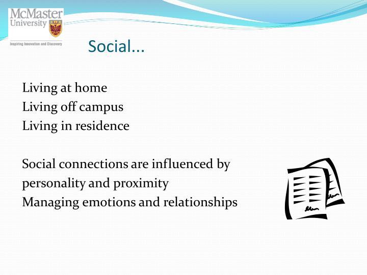 Social...