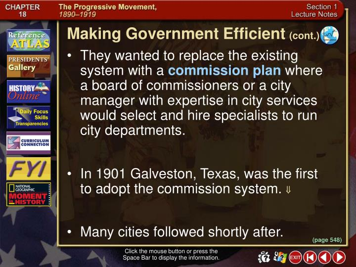 Making Government Efficient