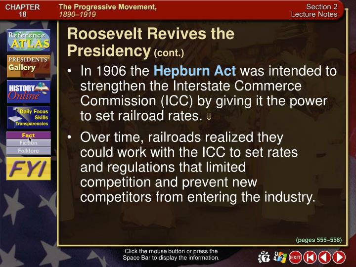 Roosevelt Revives the