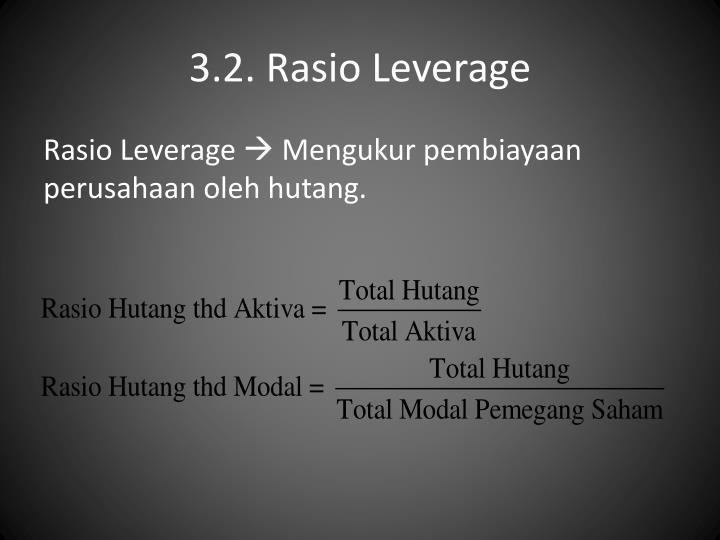 3.2. Rasio Leverage