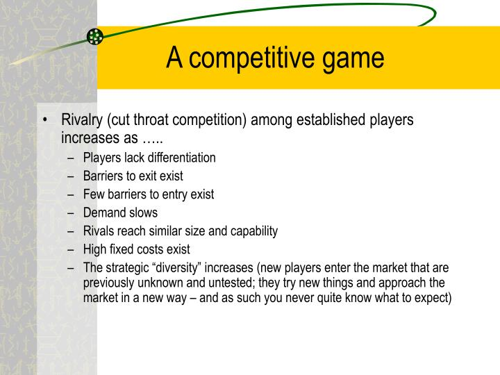 A competitive game