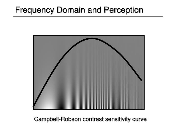 Frequency Domain and Perception