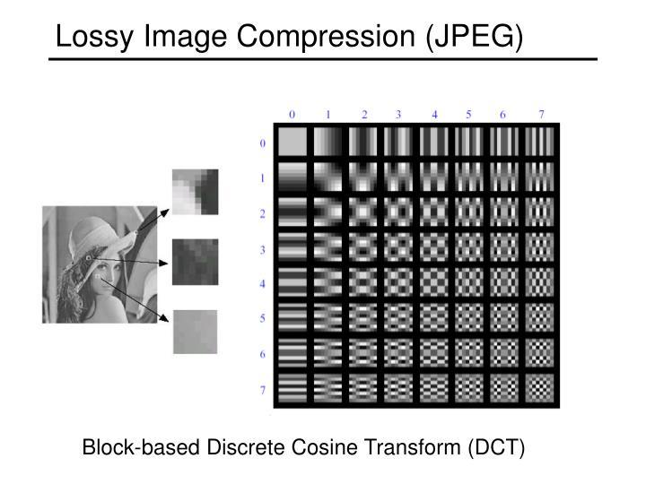 Lossy Image Compression (JPEG)
