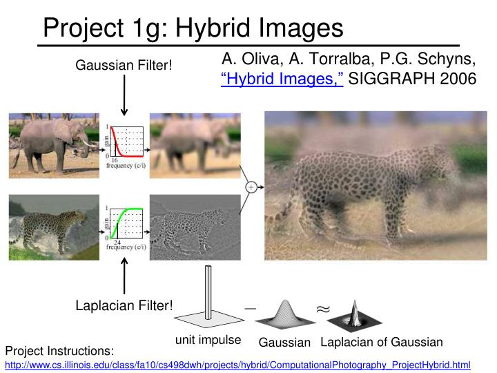 Project 1g: Hybrid Images