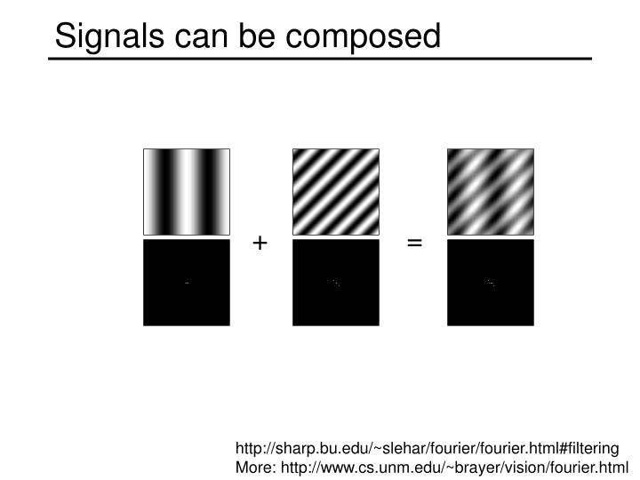 Signals can be composed