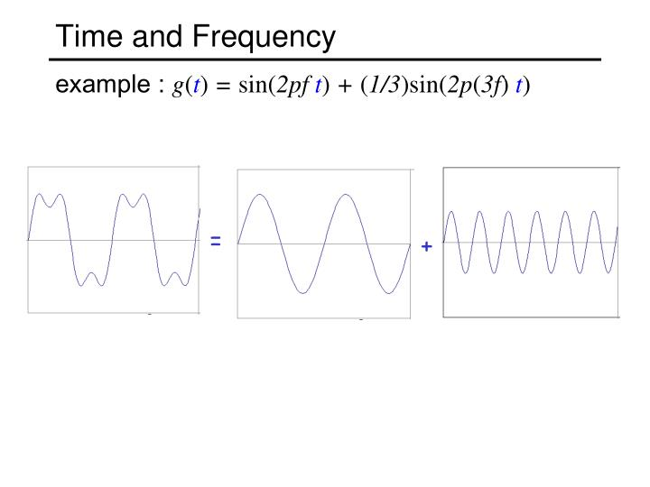 Time and Frequency