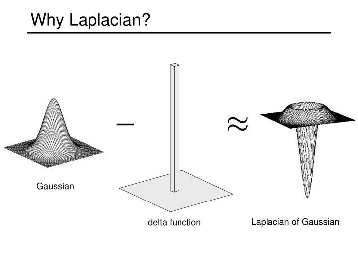 Why Laplacian?
