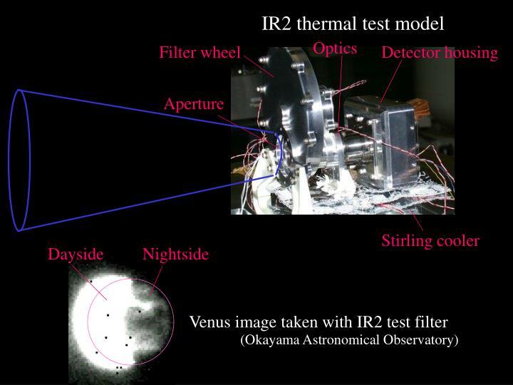 IR2 thermal test model