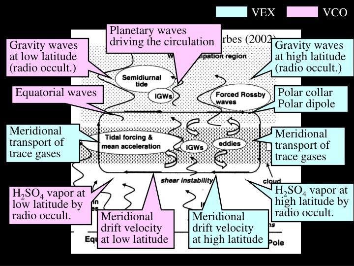 Planetary waves driving the circulation