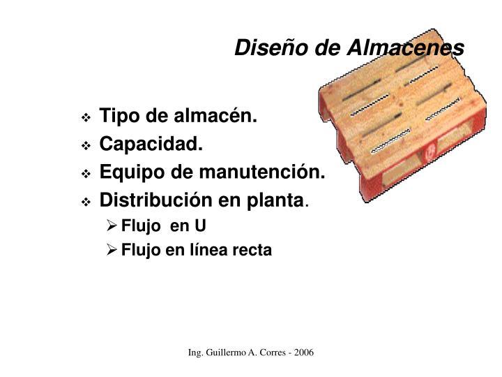 Diseño de Almacenes