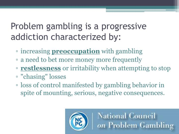 1. Obsession with Gambling