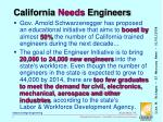 california needs engineers