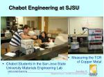 chabot engineering at sjsu