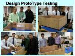 design prototype testing