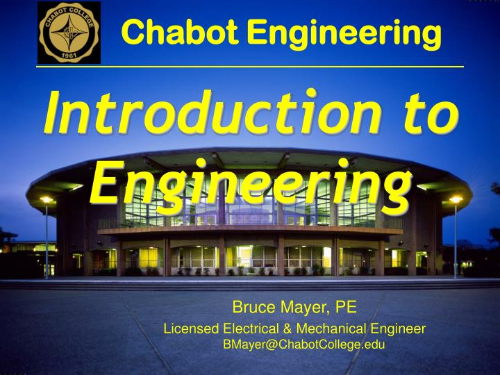 Chabot Engineering