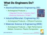 what do engineers do cont 1
