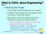 what is cool about engineering cont 1