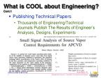 what is cool about engineering cont 11