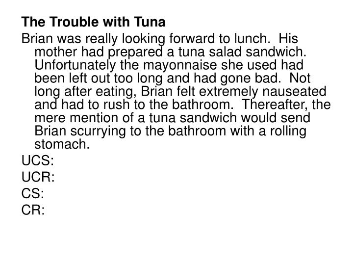 The Trouble with Tuna