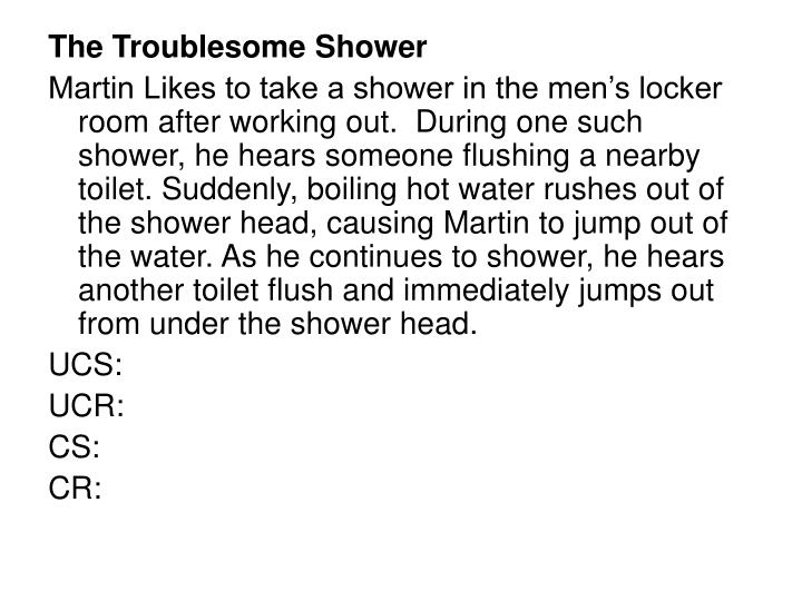 The Troublesome Shower