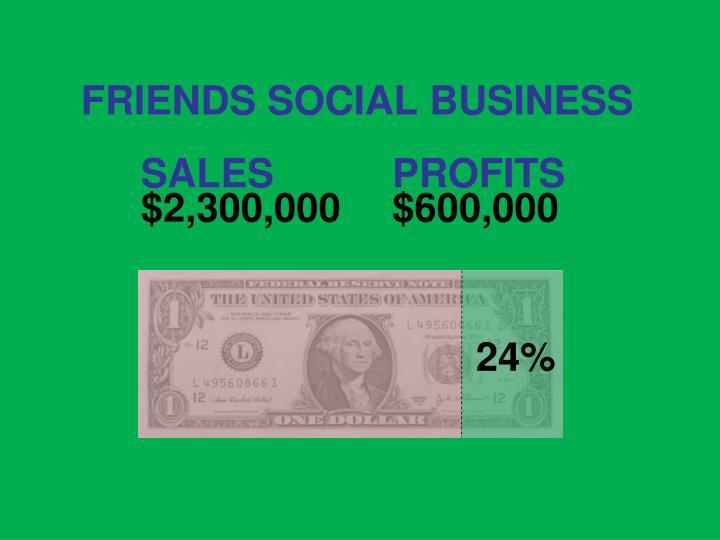 FRIENDS SOCIAL BUSINESS