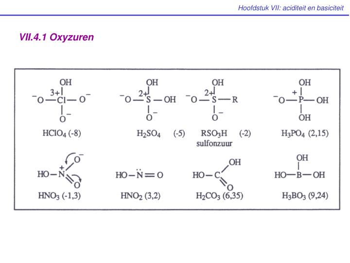 VII.4.1 Oxyzuren
