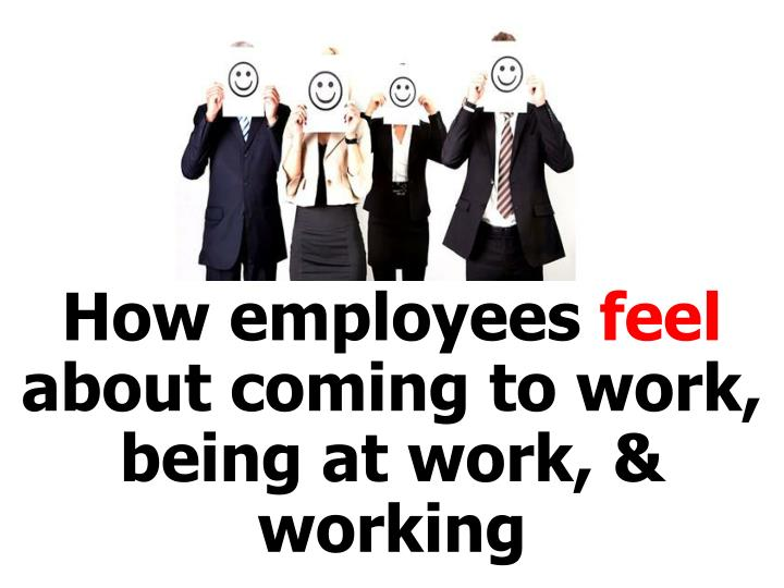 How employees