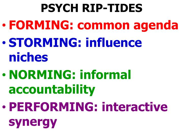 PSYCH RIP-TIDES