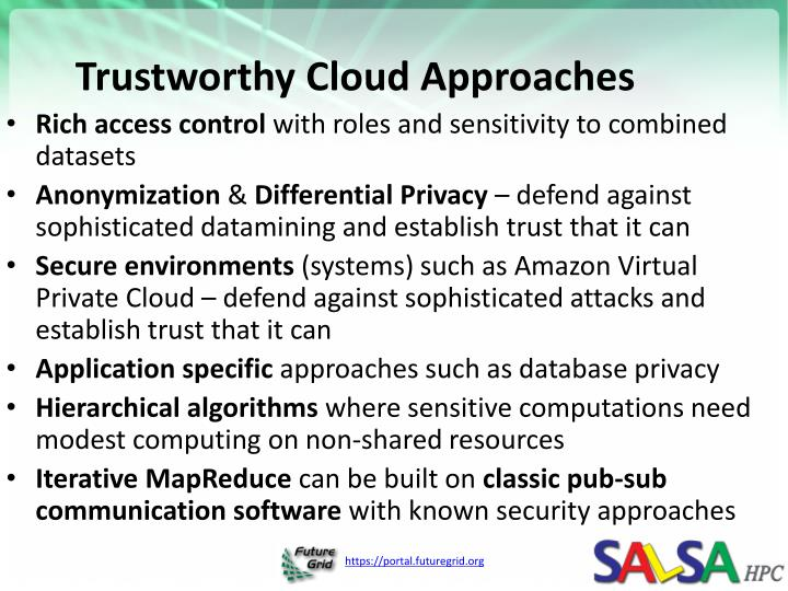 Trustworthy Cloud Approaches