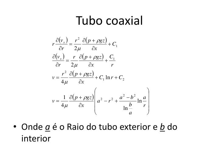 Tubo coaxial