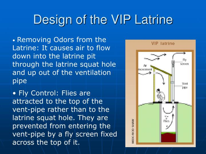 Design of the VIP Latrine