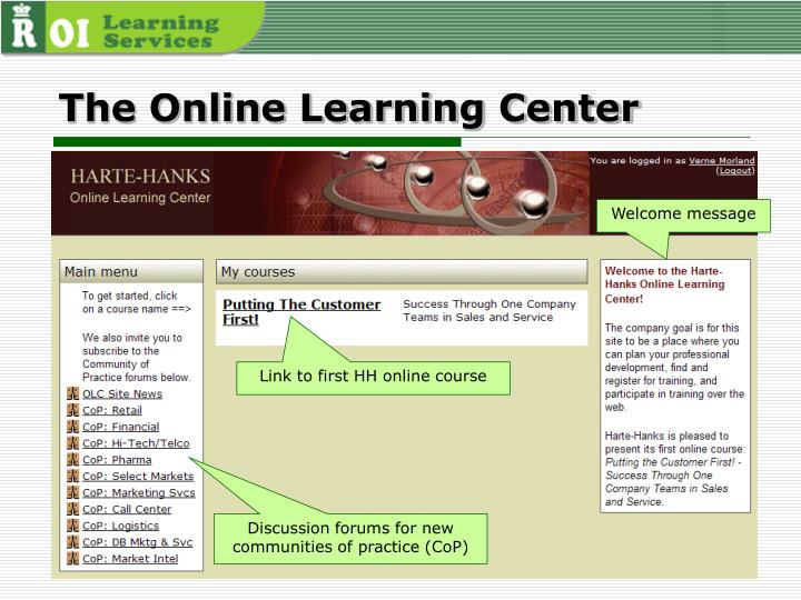 The Online Learning Center