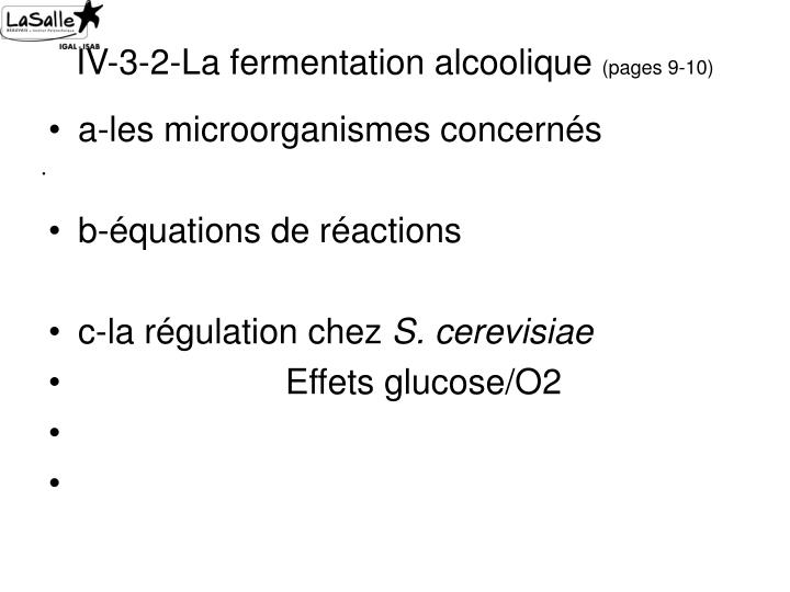 IV-3-2-La fermentation alcoolique