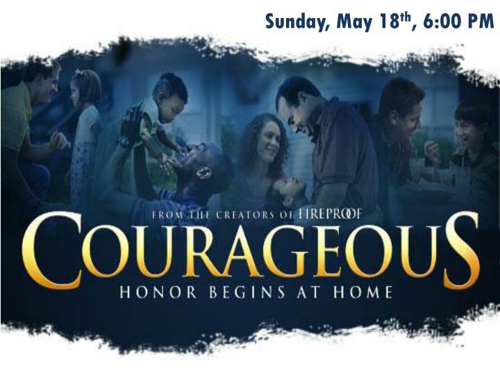 Sunday, May 18