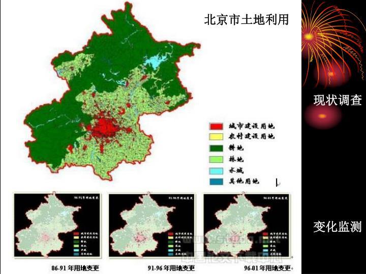 北京市土地利用