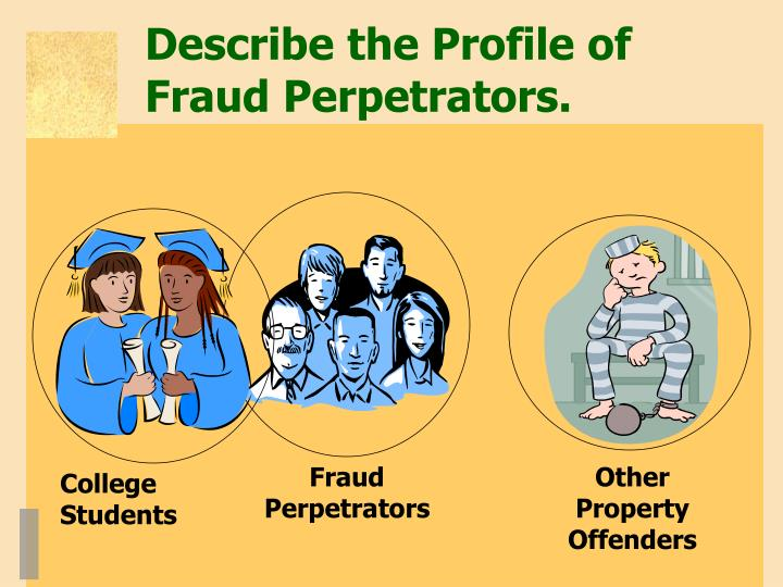 Fraud Perpetrators