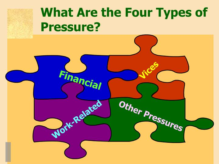 What Are the Four Types of Pressure?