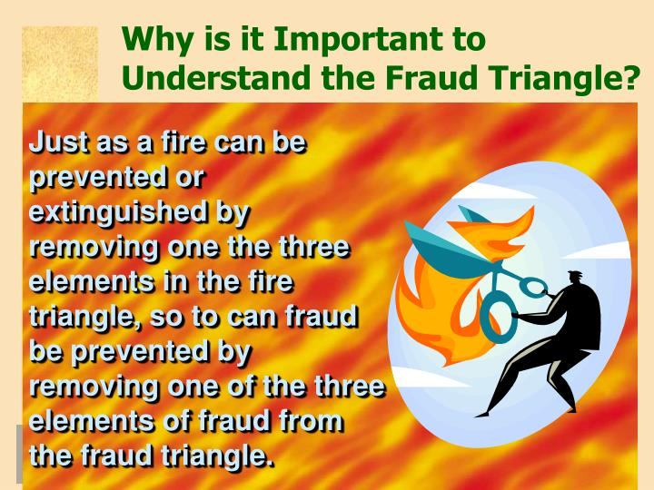Why is it Important to Understand the Fraud Triangle?