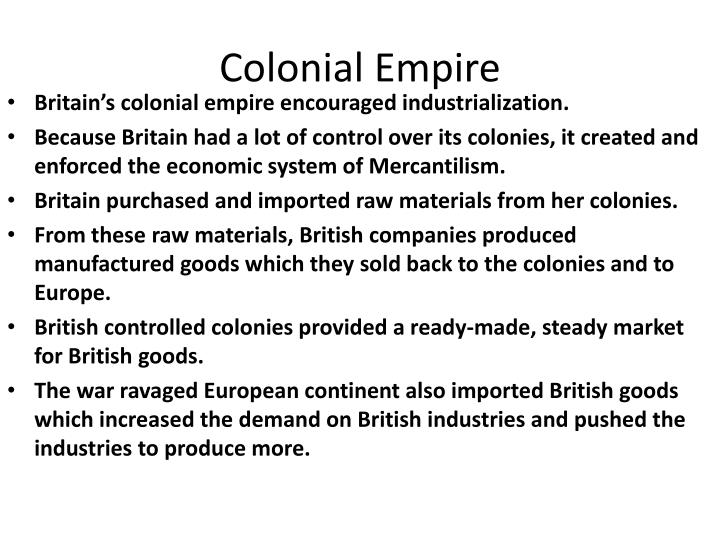 Colonial Empire