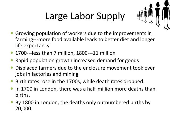 Large Labor Supply