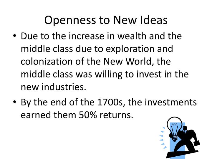 Openness to New Ideas