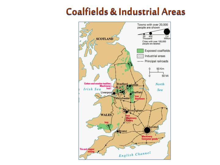 Coalfields & Industrial Areas