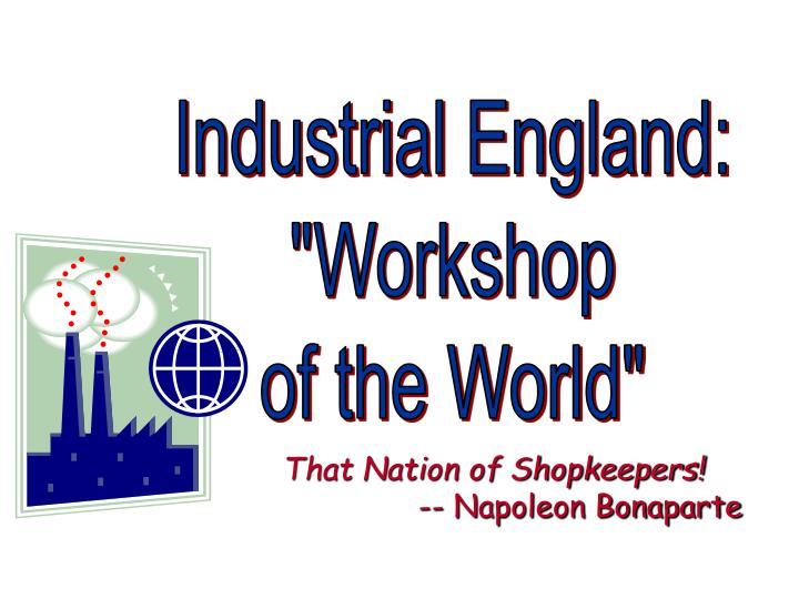 Industrial England: