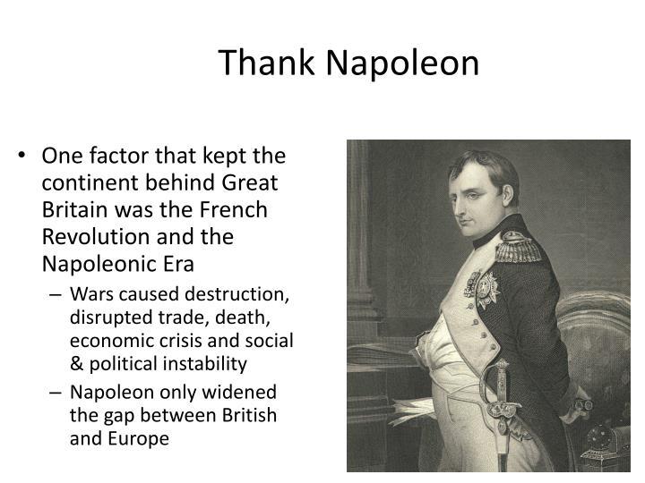 Thank Napoleon