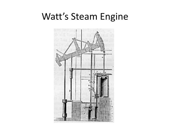 Watt's Steam Engine