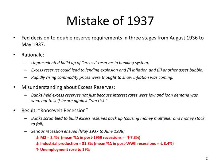 Mistake of 1937