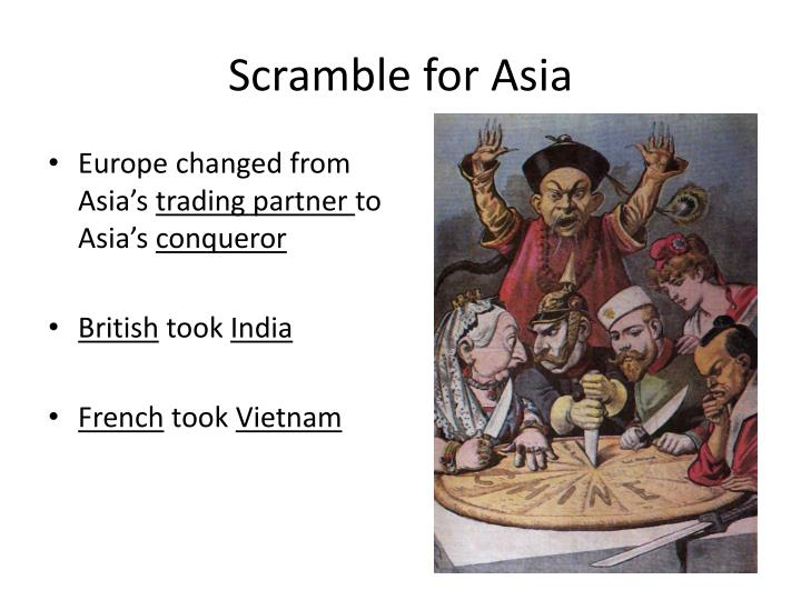 Scramble for Asia