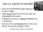 the u s fights to victory