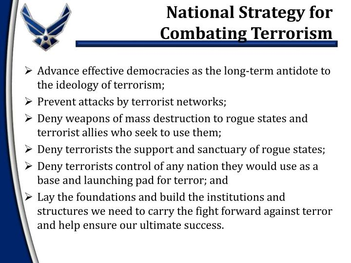 National Strategy for