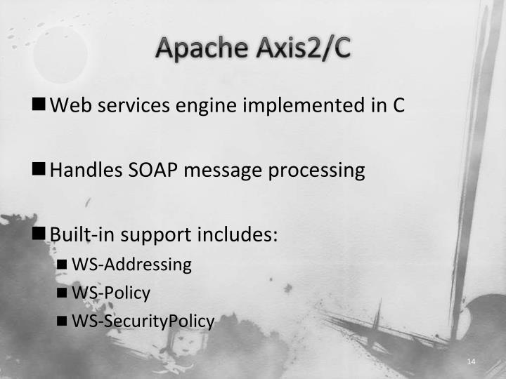 Apache Axis2/C